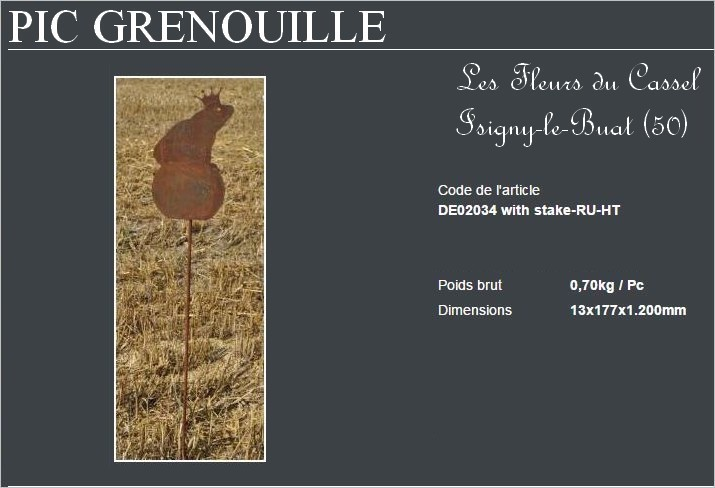 Grenouille pic
