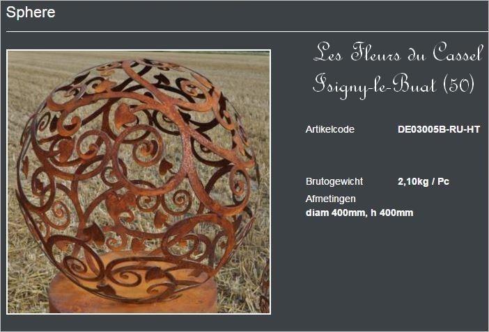 Sphere arabesques